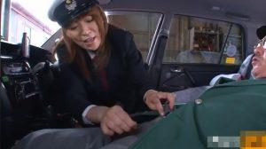 女性タクシードライバー「車の点検オッケーです♪次はオチンチンの点検します」